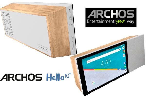 altavoz inteligente con pantalla Archos Hello