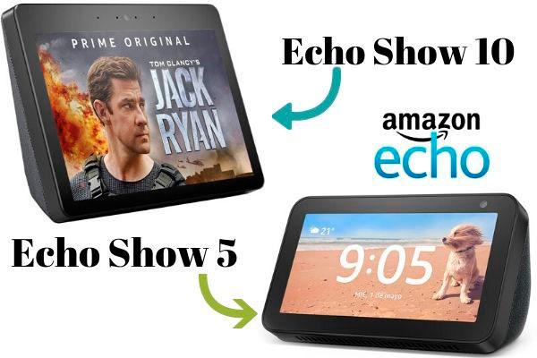 comparativa echo show