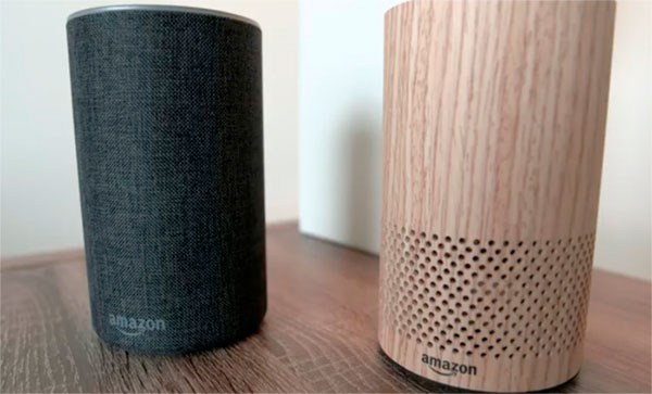altavoz inteligente amazon echo