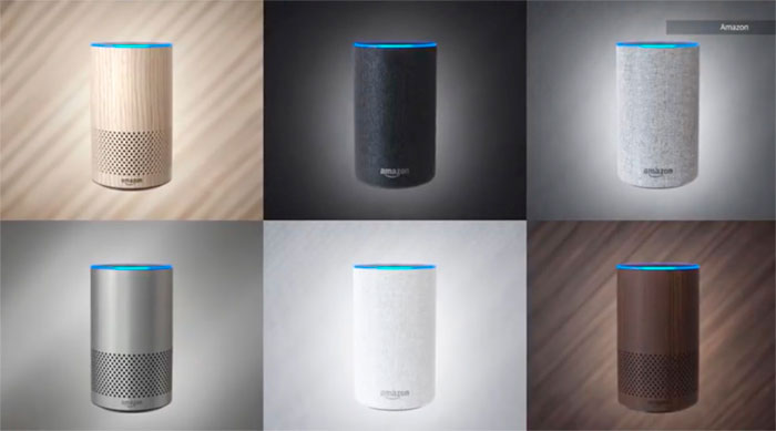colores Amazon Echo 2