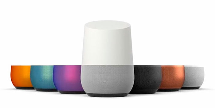 colores google home