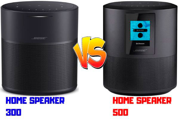 home speaker 300 vs home speaker 500
