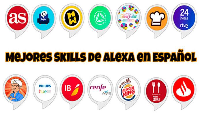 mejores skills alexa español