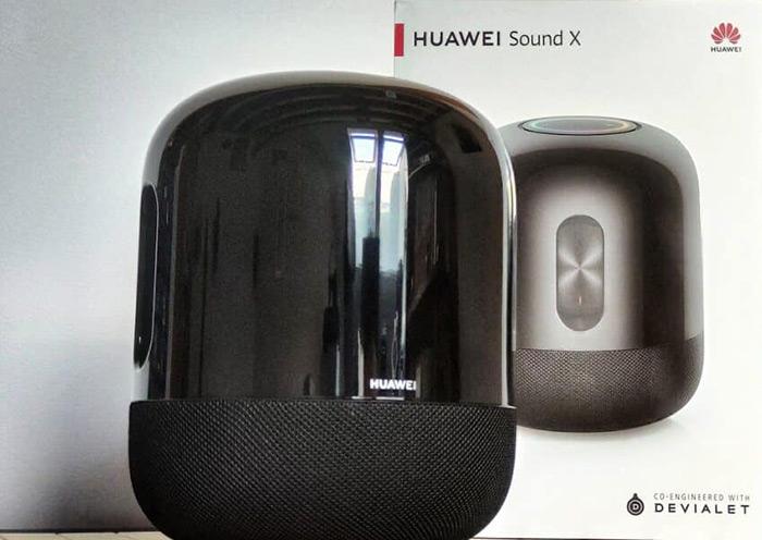 caja huawei sound x