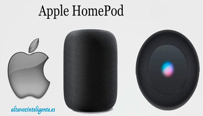 altavoz inteligente apple