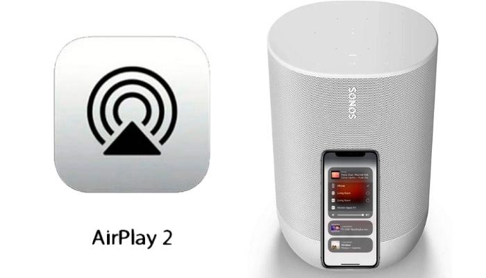 airplay 2 sonos move